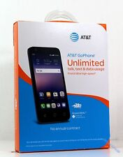 AT&T GoPhone - Alcatel Ideal 4G LTE with 8GB Memory Prepaid  Phone - Slate Blue