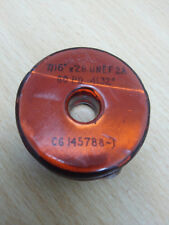 """EXTERNAL Thread Gauge 7/16"""" -28 UNEF  2A   GO PD .4132"""