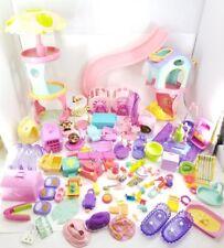 Huge Lot Littlest Pet Shop 107 pc Total  Accessories Bulk Mix LPS Good Variety