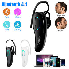 Wireless Bluetooth Noise Cancelling Trucker Headset Earphone For Mobile Phone US