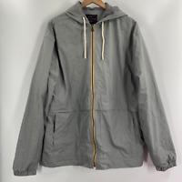 Weatherproof Original Mens Gray Polyester Hoodie Lightweight Jacket Size XL