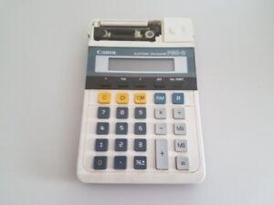 Vintage Portable Canon P60-D Vintage Electronic Calculator Adding Machine