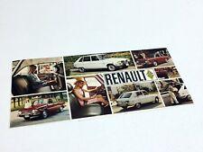 1970 Renault 10 16 Sedan Wagon Preview Brochure
