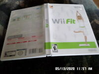 Wii Fit (Nintendo Wii) Complete w/ Case & Manual
