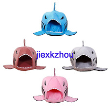 Cushion Pet Dog Cartoon Shark Mouse Shaped Puppy Cat Sleeping Bed with Removable