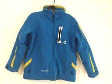 Boulder Gear Ski Snow Board Jacket Coat Blue w/Yellow Size M