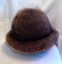 Vincent And Bill Real Fur Hat With Original Box Raccoon Or Beaver?