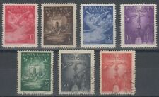 VATICAN 1947 AIRS SET (x7) MINT OR USED (ID:509/D59507)