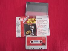 ANCIENNE CASSETTE AUDIO JAMES BROWN 1974 Double Durée