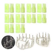 10 Paar Mini Lipo Akku Male Female Plug Pins Stecker + Buchse Crimp Set