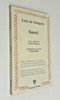Sonetti / Luis de Gongora / Passigli Poesia