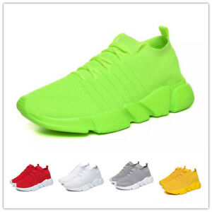 Mens Fashion Mesh Breathable Sneakers Shoes Leisure Outdoor Running Trainers New