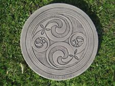 Stepping stone Celtic two swirl