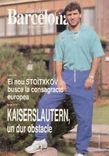 Programm | 1991-1992 | FC Barcelona v 1.FC Kaiserslautern | European Cup