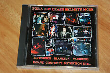 FOR A FEW CRASH HELMETS MORE CD Various Artists compilation punk 24 tracks - NEW
