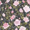 Neu Muriva - Rose Spalier - Rosa & Schwarz - Luxus Blumen Tapete - 135501
