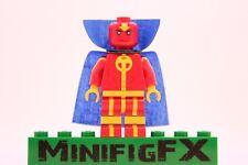 Lego RED TORNADO Custom Minifig DC Super Hero Young Justice League Thomas Morrow
