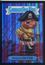 Garbage Pail Kids Chrome Series 2 Black Returning Card R4b Pegleg Peter