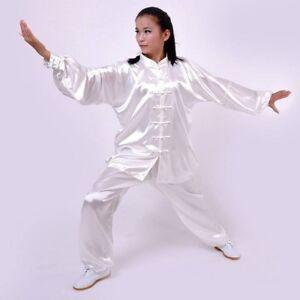 Unisex Kung Fu Suit Costume Tai Chi Martial Arts Uniform Men Performance Clothes