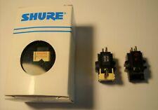 NIB Shure N91ED Stylus and 2 used Shure M91 Cartridges, one with stylus