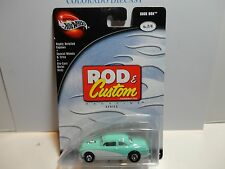 Hot Wheels 100% Preferred Rod & Custom Light Green Shoe Box w/Real Riders