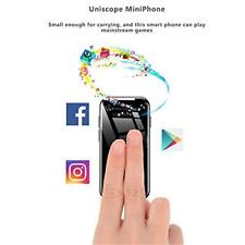 World smallest 4G Android 7.0 Dual Camera System Uniscope Mini Smart Phone UK