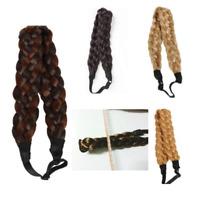 Wide Bohemian Wigs Braid Thick Fishtale Headband Fashion Hair Hair Accessories
