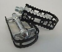 "Brand New MKS BM-7 BMX 9/16"" Pedals Black Old School Bmx KKT"