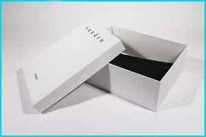 """SCATOLA CONFEZIONE LUSSO - SHOES BOX """"SANDRO PARIS"""" ORIGINALE (34x26x12)"""