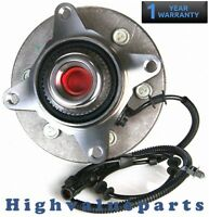 Front BR930455 Wheel Bearing & Hub Assembly for Ford F-150 2004 2005 4WD 515046