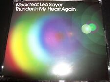 Meck Feat Leo Sayer Thunder In My Heart Australian Remixes CD Single – Like New