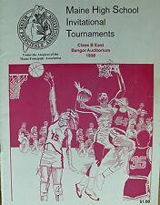 Maine High School Basketball Tournament 1998 Class B East At Bangor Auditorium