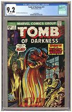 Tomb of Darkness 11 (CGC 9.2) White p; Witch Woman 1974 Marvel Comics B346