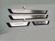 Mitsubishi ASX  door sill scuff scratch guard 4doors S.STEEL/Trim Plastic