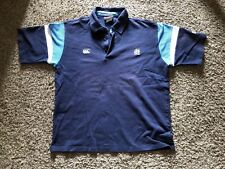 Scotland Rugby Canterbury Ccc Navy Blue Polo Famous Grouse