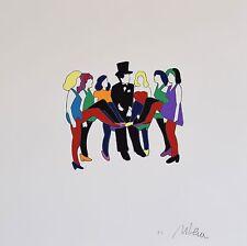 Marco Lodola Serigrafia su cartoncino Cm 40 x 40