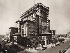 1925 Vintage CANADA ~ C. P. R. Hotel Vancouver Architecture Cityscape Photo Art
