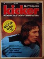 KICKER 98 - 8.12. 1975 Rudi Kagus HSV 1.FC Köln-Gladbach 0:4 Hertha-Bayern 2:1