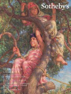 Sotheby's Catalogue Regards sur L'Orient 18/11/ 2013 HB