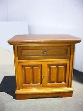 Vintage Mid Century Modern Bassett One Drawer Nightstand End Table