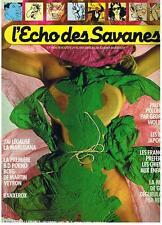 L'ECHO DES SAVANES NOUVELLE SERIE N° 2 DECEMBRE 1982 TRES BON ETAT