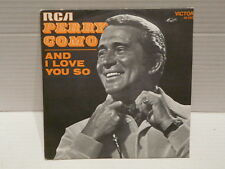PERRY COMO And I love you 41100
