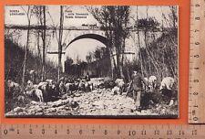 Somma Lombardo  (VA) Ponte sulla Stronaccia Strada Golasecca - Animata  - 19391
