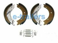 TRAILER BRAKE SHOES 203x40 FOR KNOTT IFOR WILLIAMS BRIAN JAMES 6 MONTHS WARRANTY