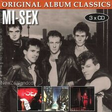 Mi-Sex MiSex New Zealand 3 cd set- Graffiti Crimes,Space Race,Shanghaied