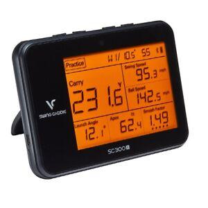 Neu 2021 Voice Caddie SC300i Swing Caddie Tragbar Golf Monitor zu Starten