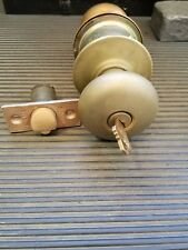 Schlage old style A series entry knob various finishes