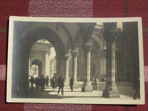 1930s Vintage Postcard Genoa Genova Portici e Ponte Monumentale Card No. 62414