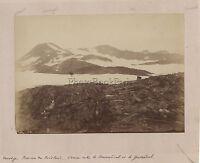 Norgeve Norge Norway Fylke Nordland Vintage Albumina Ca 1880