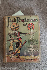 Jack Pumpkinhead of OZ  Ruth Plumly Thompson HC 1929 in Poor cond